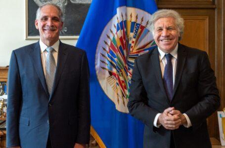 """""""Papi a la Orden"""" se reúne con secretario general de la OEA, Luis Almagro"""