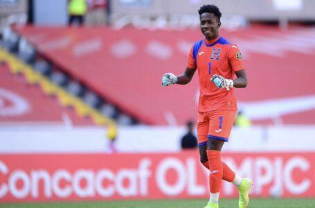 Portero Sub-23 de Honduras salió del juego ante Rumania por prevención a una lesión