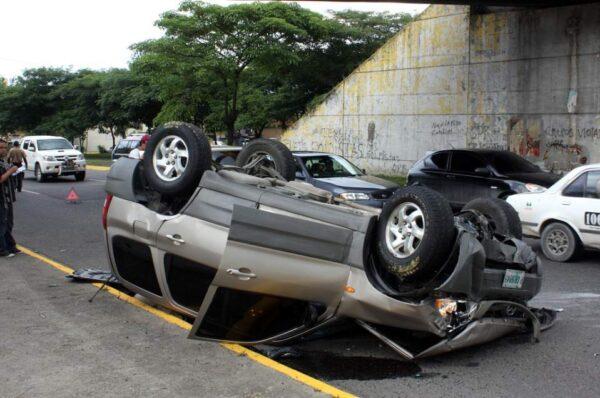 Autoridades confirman 14 muertes en accidentes de tránsito el fin de semana
