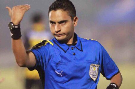 Árbitro Said Martínez primer central hondureño que arbitrará una final de Copa Oro