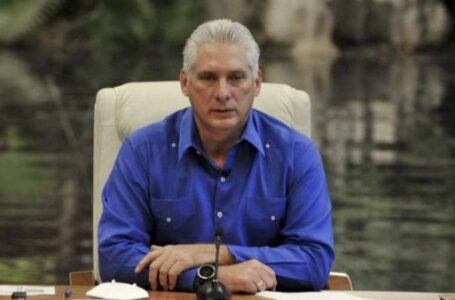 Presidente de Cuba rechaza cerco mediático contra gestión del Gobierno