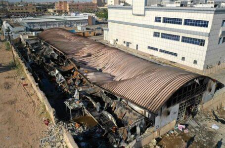 Al menos 92 muertos en el incendio de un hospital para enfermos de Covid en Irak