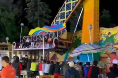 Dramático momento en que falla un juego de un parque de diversiones en EEUU