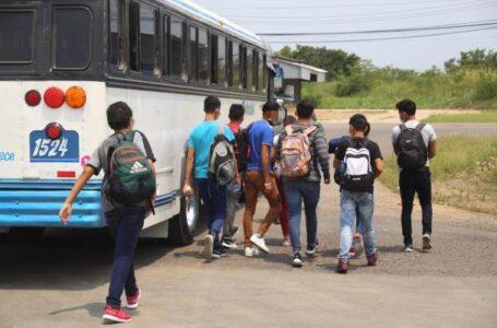 Al menos 3,722 niños migrantes han sido retornados