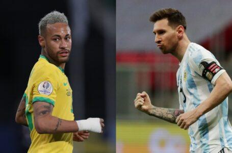 Neymar y Lionel Messi, elegidos como los mejores de la Copa América