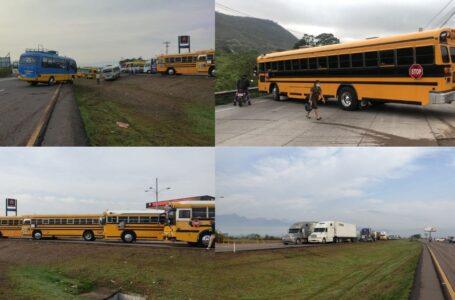 Sector transporte suspende paro nacional programado para este lunes
