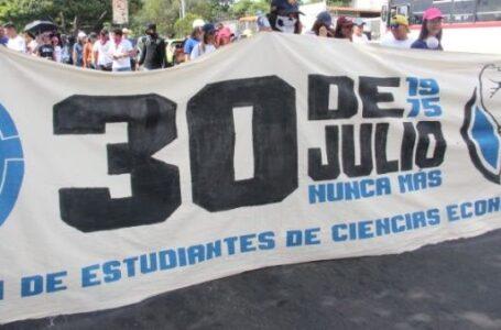 Salvadoreños realizan Paro Nacional en rechazo al Gobierno