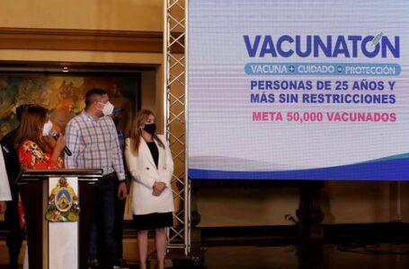Tercer Vacunatón en el litoral Atlántico inmunizará 50 mil hondureños el fin de semana
