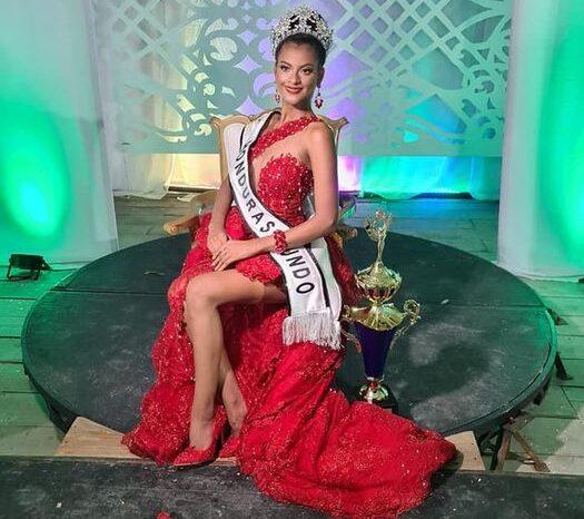 La bella miskita Dayana Bordas se convirtió en Miss Honduras Mundo 2021