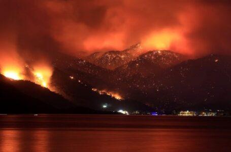 Reportan incremento de incendios en Turquía, Grecia e Italia