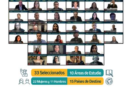 Con apoyo de BAC: Se eligen 33 nuevos becados de HonduFuturo