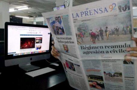 La Prensa de Nicaragua deja de circular de forma impresa por retención de insumos