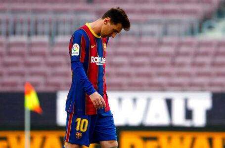 Oficial: Messi no seguirá más en el Barcelona