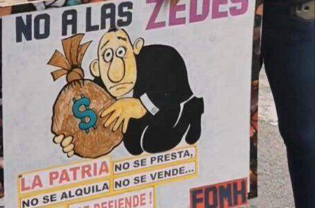Convocan para el próximo lunes a protesta permanente en contra de las ZEDE