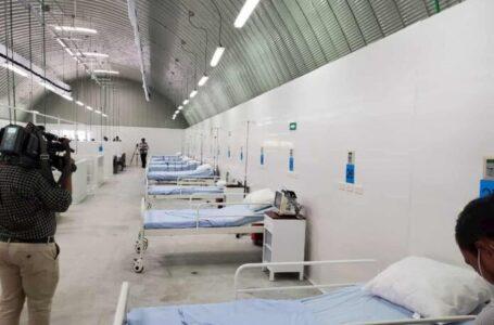 HE habilitará nuevo espacio para pacientes con COVID aun costo de L. 100 millones