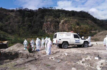 Medicina Forense ha realizado 71 exhumaciones en el 2021