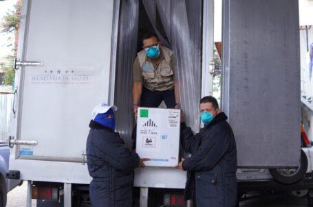 Se complementa llegada al país de 186,030 dosis de vacunas Pfizer