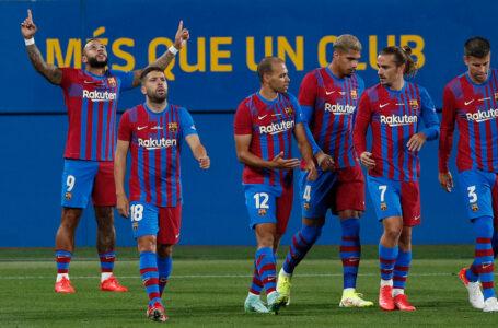Barcelona goleó a la Juventus y se quedó con el Trofeo Joan Gamper 2021