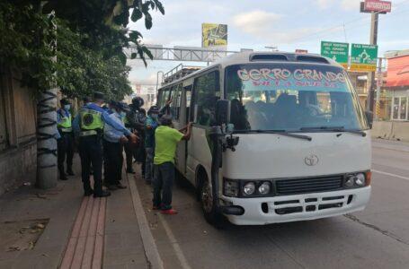 Intensifican operativos para prevenir delincuencia en el transporte