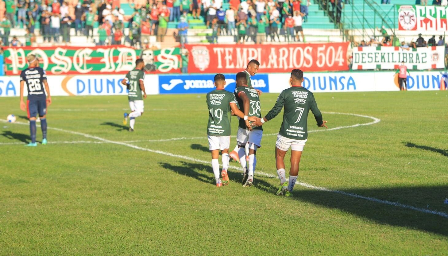 Marathón se queda con el clásico de las «M» y vence 2-0 al Motagua en SPS