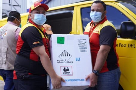 Honduras recibe otras 193,050 vacunas Pfizer contra el COVID-19