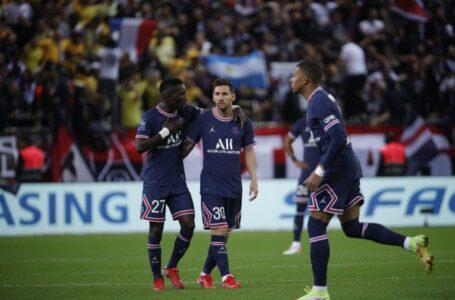En el día del debut de Lionel Messi, PSG venció al Reims con dos goles de Mbappé y se afirmó en la punta de la Ligue 1