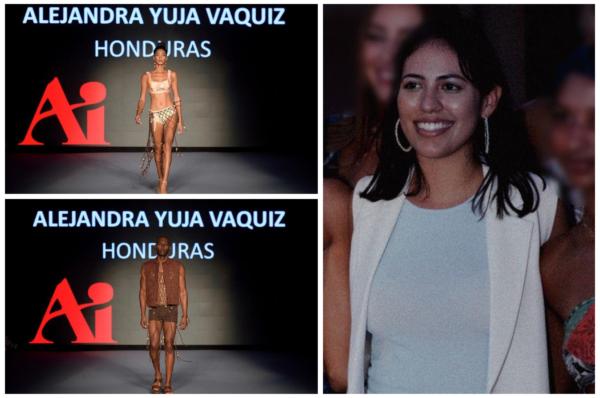 Alejandra Yuva Vaquiz y su amor por la moda que lleva a Honduras a brillar en Miami