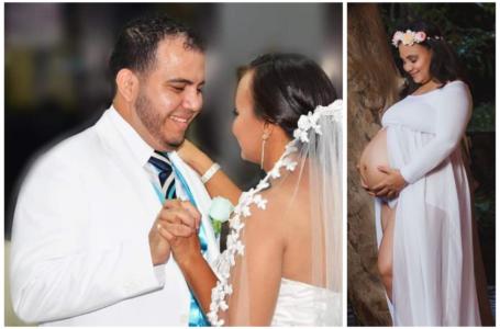 """""""Te estoy extrañando exagerado"""": desgarrador mensaje de fotógrafo hondureño que perdió su esposa por COVID"""