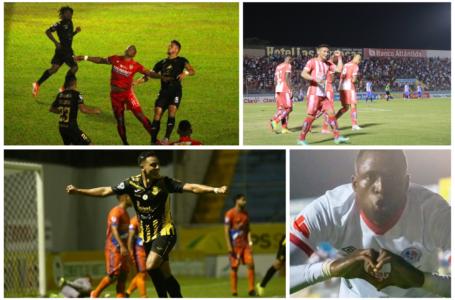 Lluvia de goles en la quinta jornada que deja a Motagua como líder momentáneo