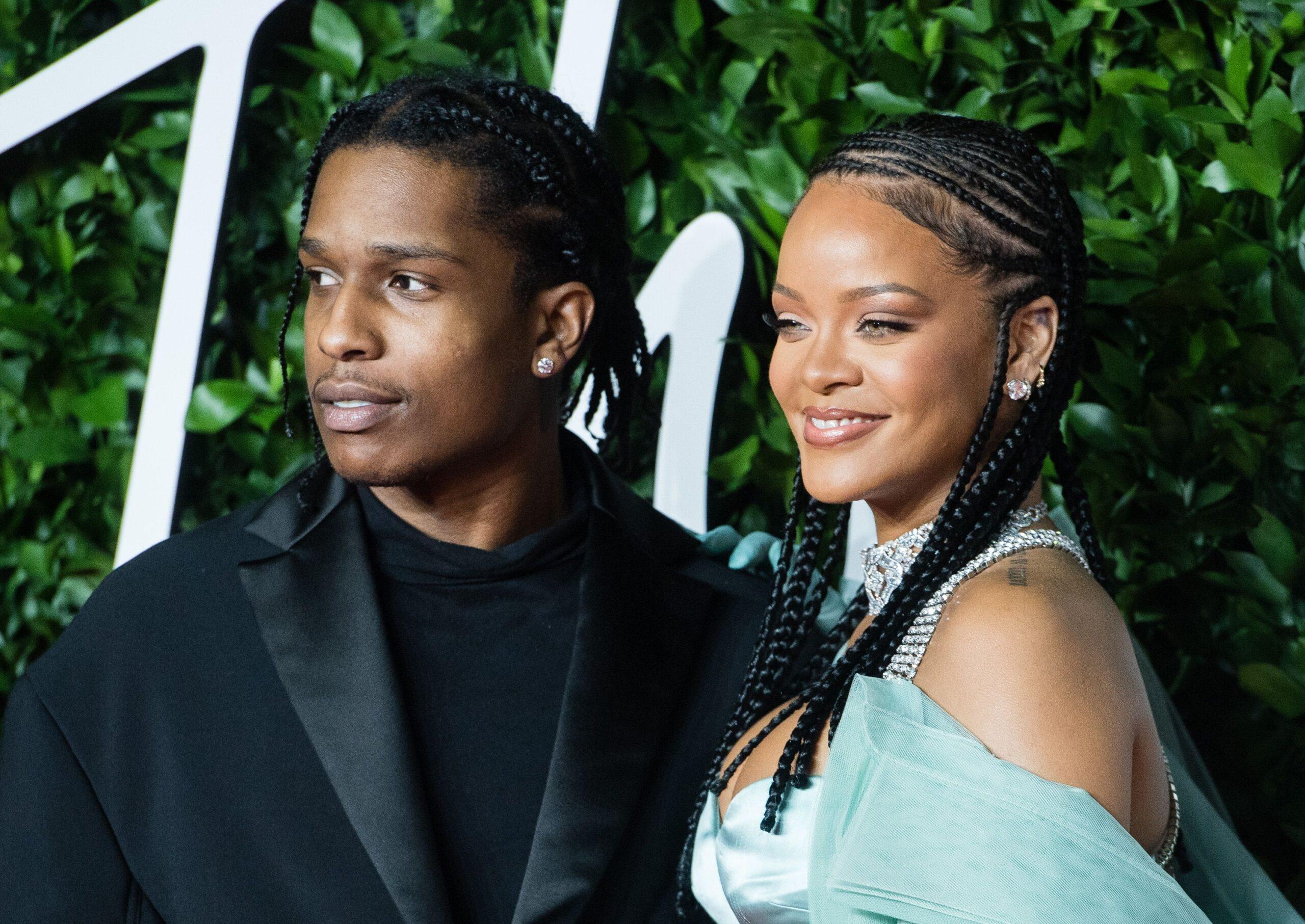 Las cosas van en serio y Rihanna podría anunciar pronto su boda con ASAP Rocky