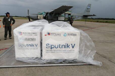 Llegan a Honduras las otras 20 mil dosis del segundo componente de la Sputnik-V