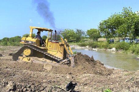 Autoridades aseguran que en un 88% avanza la reparación de bordos en el Valle de Sula
