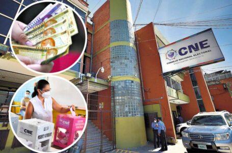 CN aprueba ampliación de L. 1,000 millones al CNE y tecnologías para las elecciones