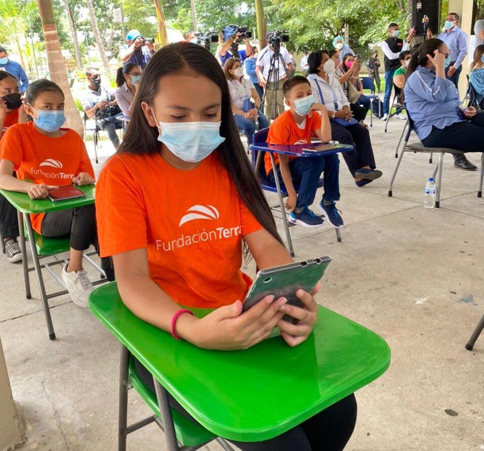 Fundación Terra inaugura Espacios de Conectividad en Parques Convive Mejor de Tegucigalpa