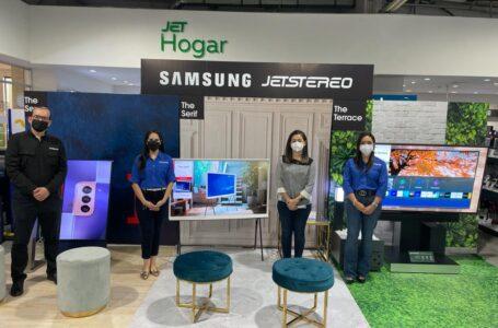 Nuevos televisores de Samsung Lifestyle TV en Jetstereo para darle estilo a todos los espacios