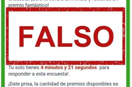 Supermercados La Colonia advierte de encuestas y premios falsos en redes sociales