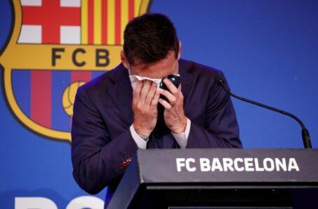 Leo Messi aún está en su casa revisando el contrato del PSG