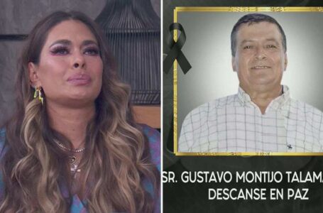 Galilea Montijo devastada tras confirmar muerte de su padre por COVID-19