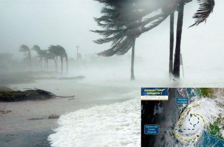 Huracán Olaf impacta el estado mexicano de Baja California Sur