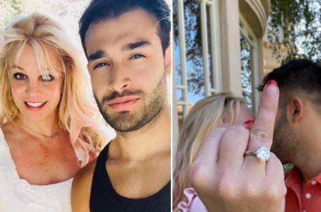 Britney Spears anunció su compromiso con Sam Asghari