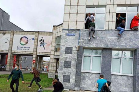 Estudiante protagoniza tiroteo en una universidad rusa dejando varios muertos y heridos