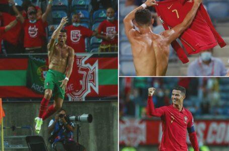 Cristiano Ronaldo se convirtió en el máximo goleador de la historia a nivel selecciones