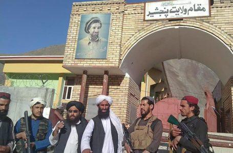 Los talibanes afirman que tienen el completo control de la provincia de Panjshir