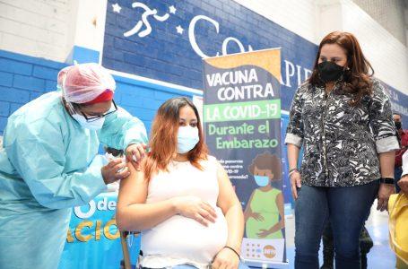 Unas 45 mil embarazadas se han vacunado contra la COVID en Honduras