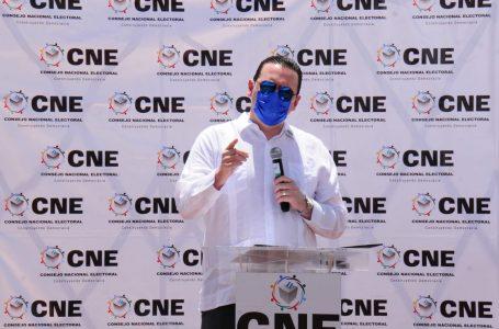 """Presidente del CNE se desliga si existen """"ilegalidades"""" en contratación del TREP"""