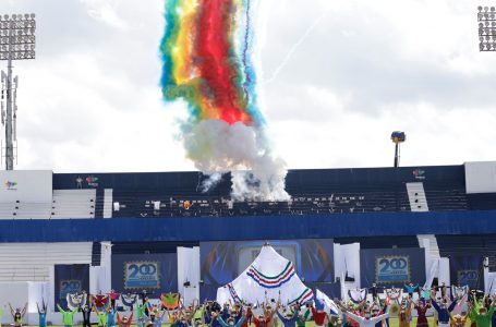 Con atípicos desfiles militares y actos especiales se celebró el Bicentenario de Honduras