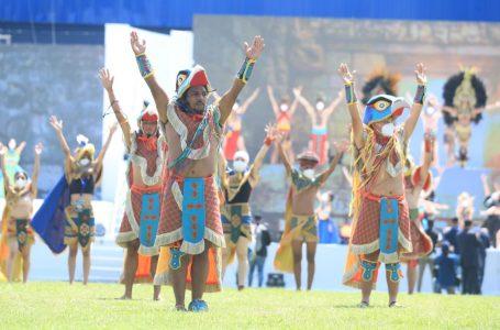 Fiesta cívica en los 200 años de Independencia de Honduras