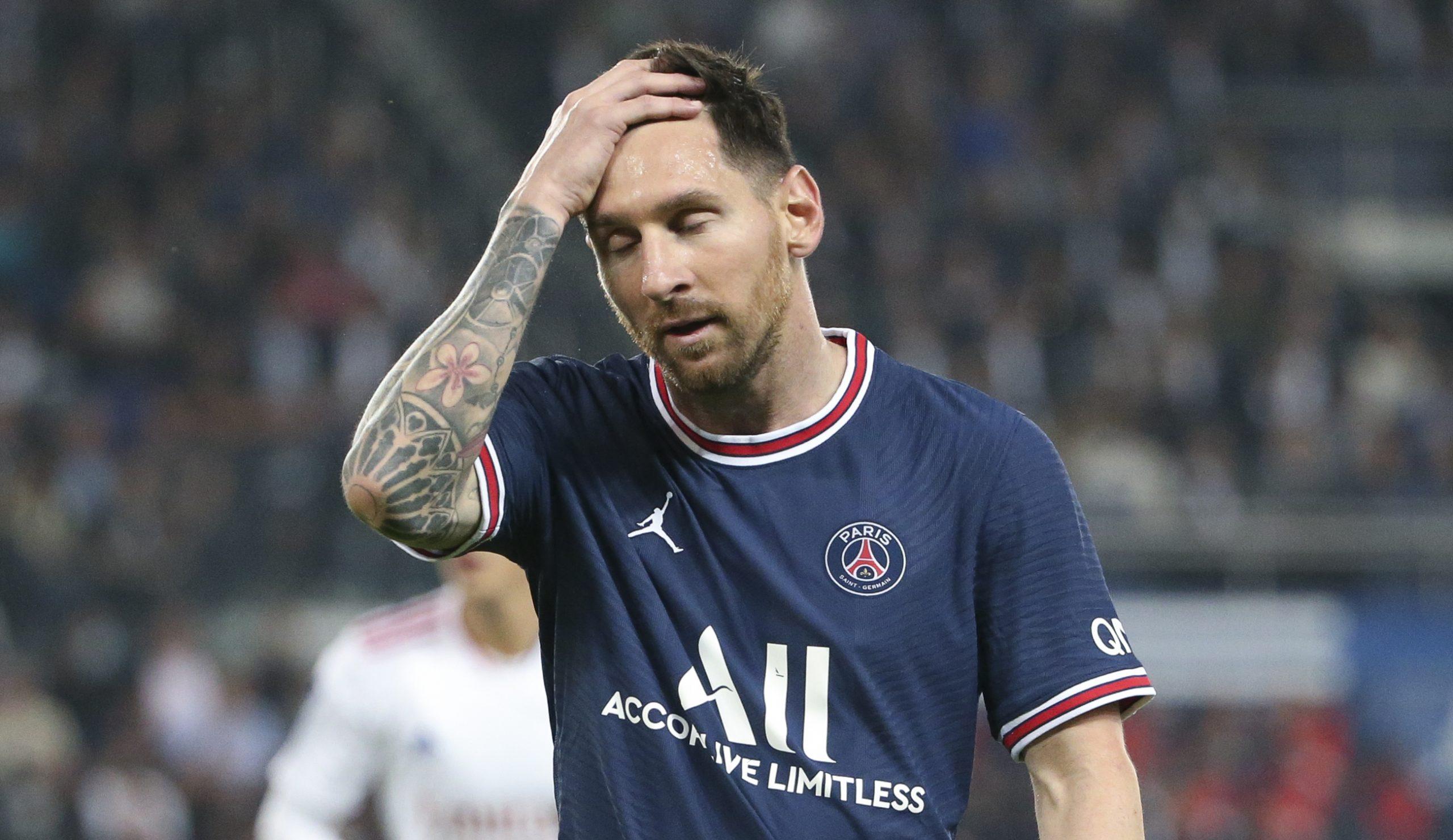 PSG descartó a Lionel Messi para el próximo partido y es duda para enfrentar al Manchester City