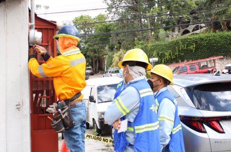 Continúan operativos para detectar millonarios hurtos de energía en la capital