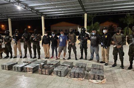 Decomisan 395 kilos de cocaína en la ciudad de La Ceiba